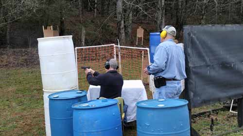 Practical Shooting Match near asheville, nc